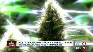 A state attorney won't prosecute for marijuana possession [Video]