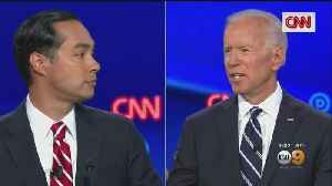 News video: Biden Fends Off Attacks From All Sides In Second Round Of Detroit Debate