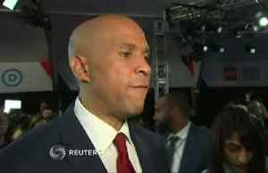 Cory Booker turns the heat up on Biden after debate [Video]