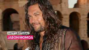 Jason Momoa gets early surprise 40th party in London [Video]