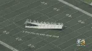 Bleachers Blown Away At High School Football Field In Holmesburg [Video]