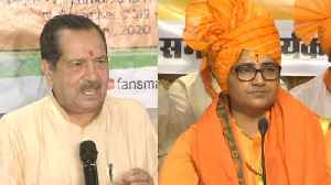 RSS leader: Congress tormented Sadhvi Pragya, Hemant Karkare is a martyr [Video]