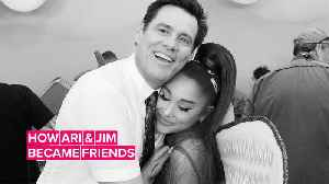 We stan for Ariana Grande & Jim Carrey's friendship [Video]