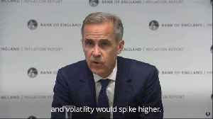 Mark Carney: UK growth likely to slow in event of no-deal Brexit [Video]