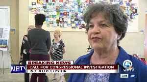 Congresswoman Lois Frankel calls for investigation into Jeffrey Epstein [Video]