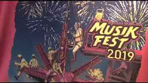 VIDEO New designs, twists mark Musikfest t-shirts and mugs this year [Video]