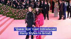'Queer Eye' Cast Introduced Harry Styles to Grindr [Video]