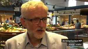 Jeremy Corbyn 'disappointed'  with Brecon results [Video]