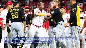 40 Games of Suspensions Handed Out for Reds-Pirates Brawl [Video]