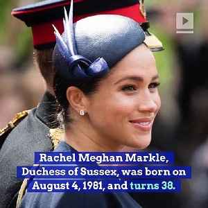 Happy Birthday, Meghan Markle! (Sunday, August 4th) [Video]