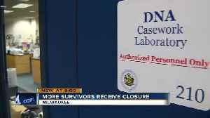 More sexual assault survivors receiving closure [Video]