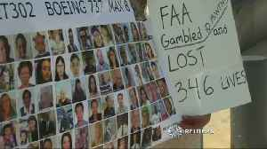 Family of Ethiopian Airlines crash victim protests outside FAA [Video]