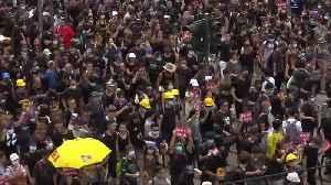"""Trump calls Hong Kong protests """"riots"""" [Video]"""