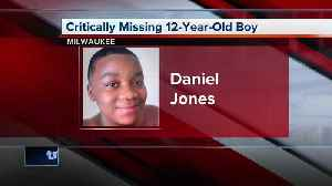 Critically Missing 12-year-old boy from Milwaukee [Video]
