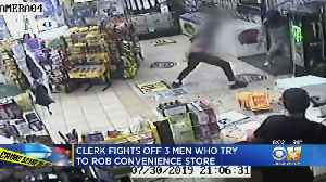 Tarrant County Convenience Store Clerk Fights Back During Attempted Robbery [Video]