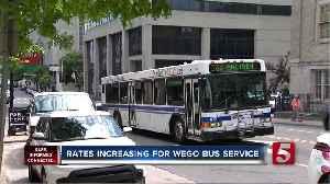 Fares increasing for WeGo bus service [Video]