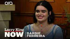 Barbie Ferreira on how she learned to be strong as a young woman [Video]