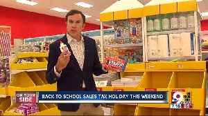 News video: Get hyped for Ohio's back-to-school sales tax holiday