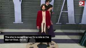 Jared Leto in talks for The Little Things [Video]