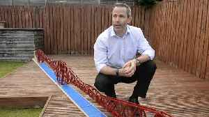 Dad builds a lego replica of Forth Rail Bridge [Video]