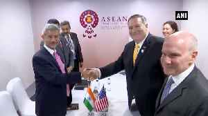 EAM Jaishankar meets world leaders, attends ASEAN-related meetings in Bangkok [Video]