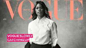 Laverne Cox is the first trans woman on British Vogue's cover [Video]