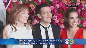 Bruce Springsteen's Son Is Becoming A Firefighter In New Jersey [Video]
