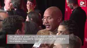 Dwayne Johnson 'excited' to see eldest daughter go to college [Video]