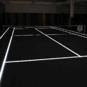 'Court 16' in New York City features one of the only LED tennis courts in the world [Video]