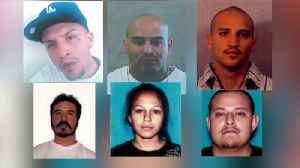 FBI Seeks 12 Fugitives Believed to Have Fled to Mexico After Allegedly Committing Violent Crimes in L.A. [Video]