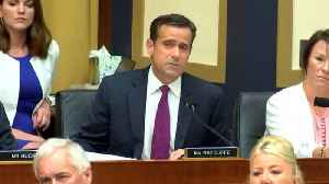 News video: Trump: John Ratcliffe Out Of The Running For Director Of National Intelligence