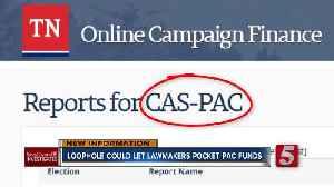 Loophole could let Casada pocket political warchest [Video]