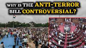 News video: Rajya Sabha passes Anti-Terror bill amid Opposition concerns over misuse