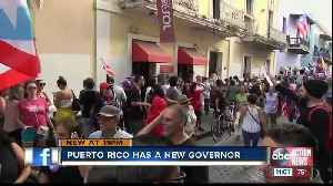 Exiting Puerto Rico governor Rossello announces replacement [Video]