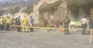 One Dead, Three Injured After Bluff Collapses at California Beach [Video]