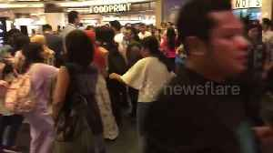 Terrified shoppers run for safety as earthquake sparks tsunami warning in Indonesia [Video]