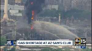 Texas oil refinery fire causes Arizona Sam's Clubs to close their gas stations [Video]