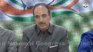 News video: Amarnath Yatra never canceled before: Congress on Home Ministry's advisory