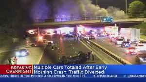 1 Dead, Several Injured After Fiery Bishop Ford Crash [Video]