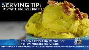 French's Offers Up Recipe For Yellow Mustard Ice Cream [Video]
