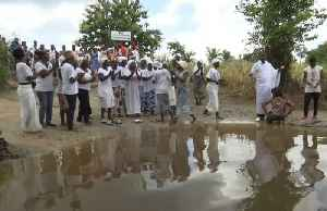 Ivorians perform rituals in river where ancestors were shackled into slavery [Video]