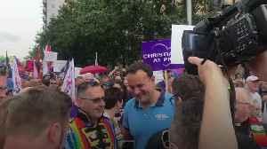 Leo Varadkar at Belfast Pride: This is Belfast at its best [Video]