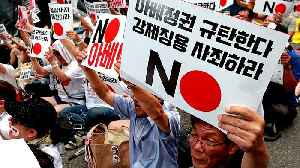 South Koreans rally against Japan amid bitter trade war [Video]