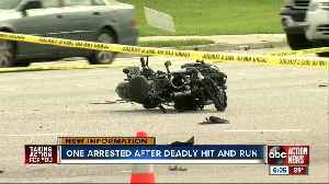 FHP: Wanted man ran red light, killed motorcyclist then stole car and ran [Video]