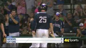 Frontier League: Otters Fall To Miners [Video]