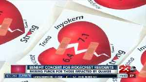 Earthquake relief concert held in Ridgecrest [Video]