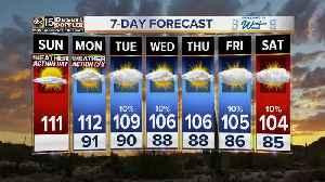 Another Excessive Heat Warning day in the Valley [Video]