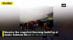 Fire breaks out at Navrang building in Mumbai [Video]