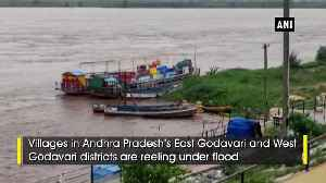 News video: Godavari villages inundated in water following heavy downpour