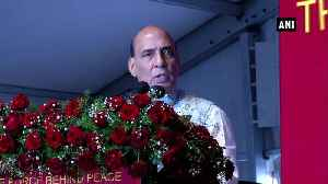 We believe in nothing less than zero tolerance against terrorism Rajnath Singh [Video]